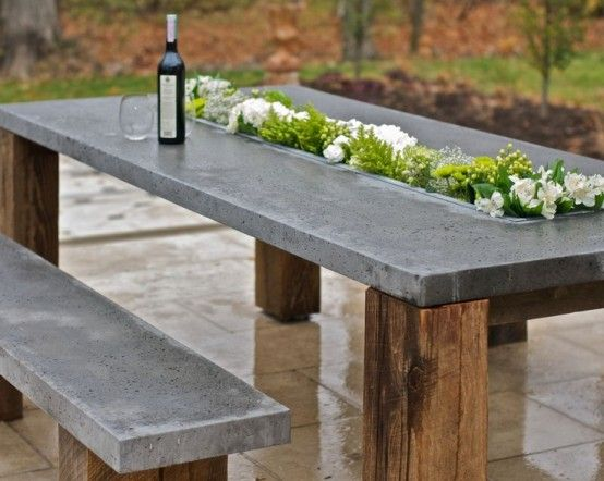 Concrete Outdoors Ideas- An Elegant Outdoors Project | OutdoorThingz