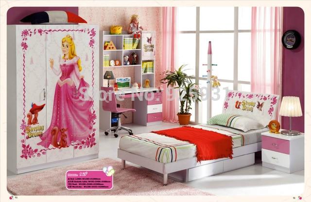 model 963 Child Bed Room Furniture /Children Room Furniture Girls
