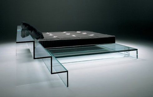 Glass Furniture by Santambrogio Milano : Could this be a new trend