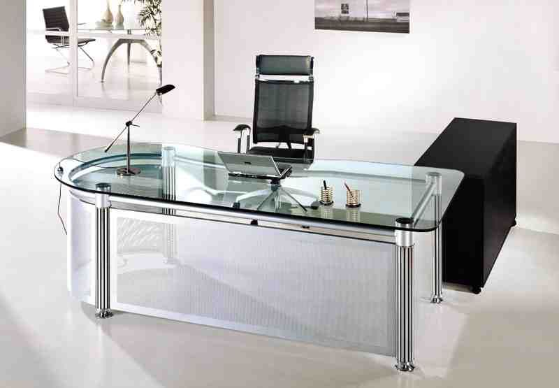 Glass Office Table | Round Office Tables | Pinterest | Glass desk