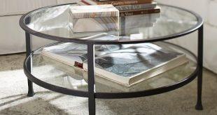 Tanner Round Coffee Table | Pottery Barn