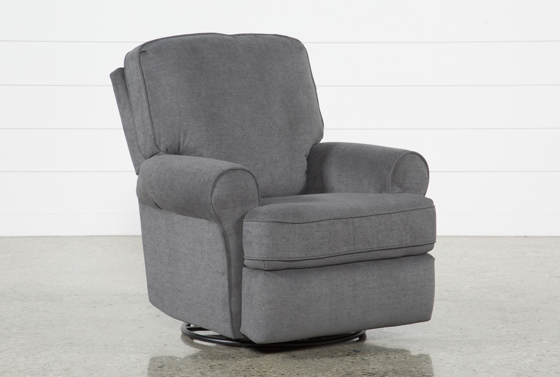 Abbey Swivel Glider Recliner | Living Spaces