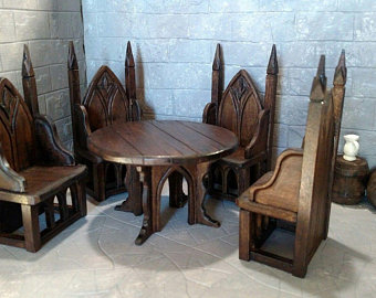 Gothic furniture | Etsy