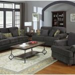 The makers and sellers of the gray sofa   and loveseat