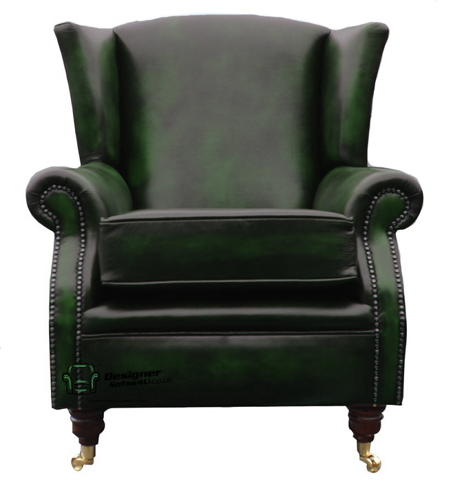 Southwold Wing Chair Fireside High Back Leather