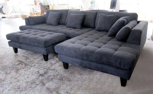 Attractive Modern Grey Couch Captivating Charcoal Grey Sectional