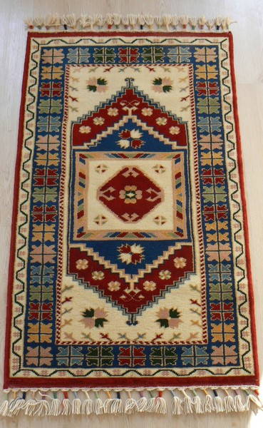 Turkish, Sivas, Vegetable Dye Handmade Rug - Vegetable Dyed Turkish