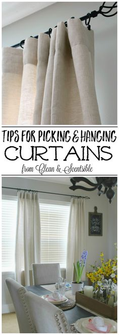 103 Best Curtain hanging images | Blinds, Window treatments, Windows