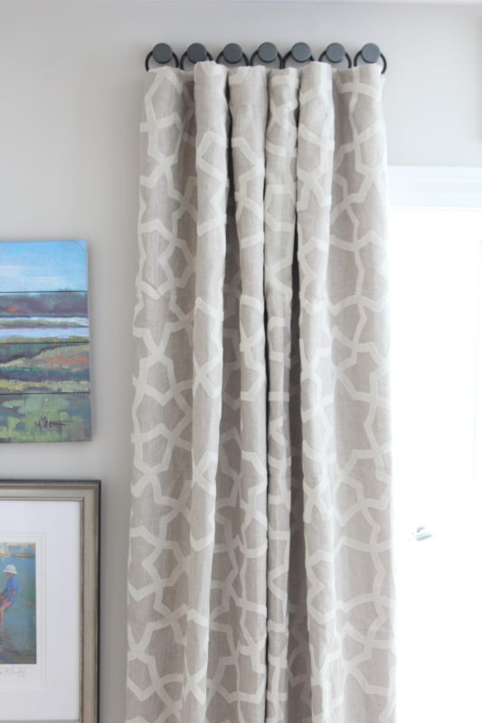 A Solution For Hanging Curtains On Tricky Windows - Shine Your Light
