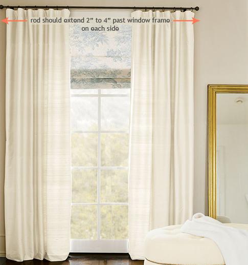 How To Hang Curtain Rod Ikea Curtain Panels.jpg u2014 BMPATH Furniture