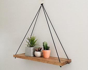 Rope shelf | Etsy