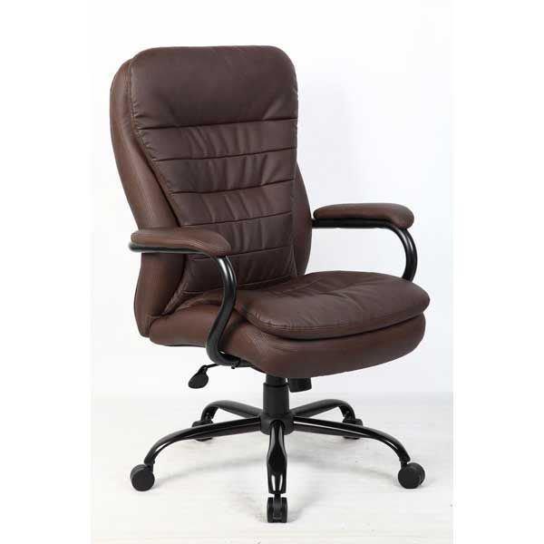 Heavy Duty Office Chair, Brown 991B | Boss | AFW
