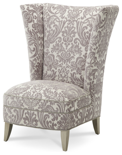 Overture High Back Chair - Transitional - Armchairs And Accent