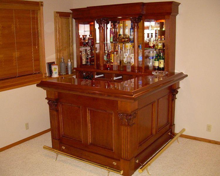 Home Pub Bars for Sale | Home Bar Furniture, Home Corner Bars, Wet