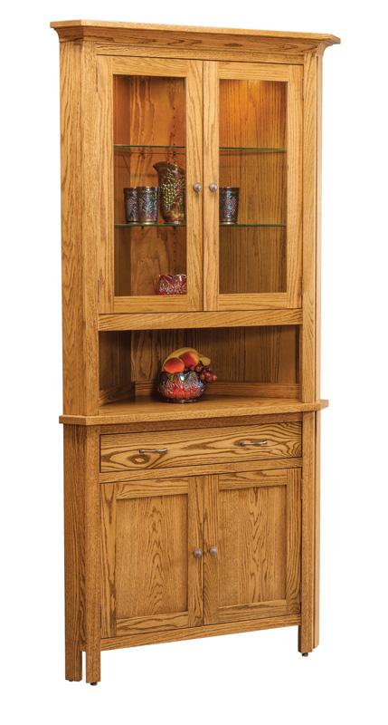 China Hutches - Ohio Hardwood & Upholstered Furniture