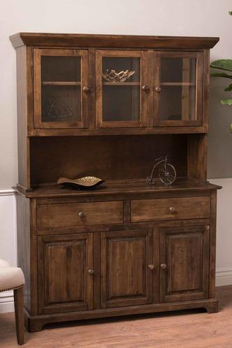 Farmhouse Buffet and Hutch - James+James Furniture | Springdale
