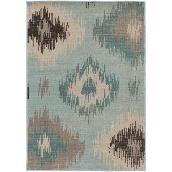 Navy Ikat Rugs You'll Love | Wayfair
