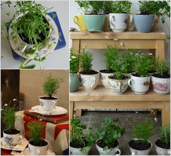 24 Indoor Herb Garden Ideas to Look for Inspiration | Balcony Garden Web