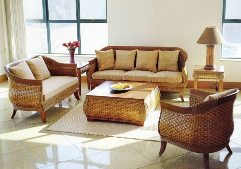 indoor wicker furniture sets for small living room | For the Home