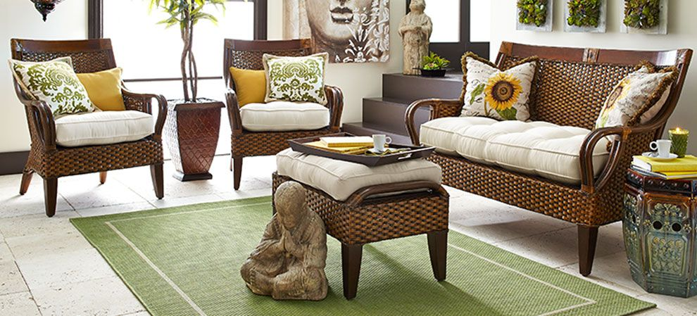 Gain A Lot With This Indoor Wicker   Furniture