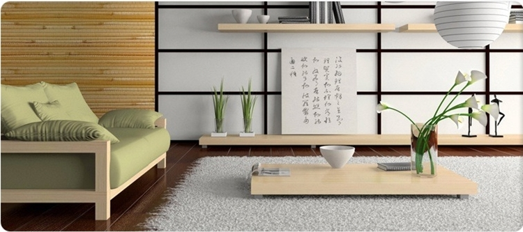 Japanese Style Furniture: Kotatsu Tables, Lamps, Shoji Room Dividers