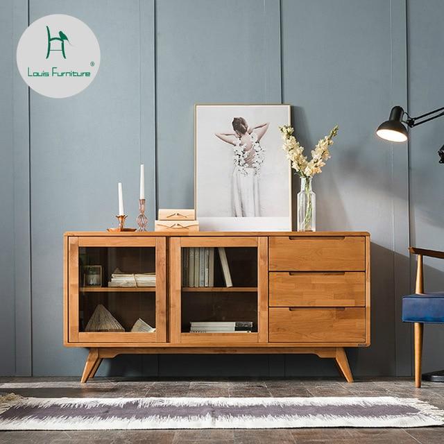 Louis Fashion Living Room Cabinets Nordic Minimalist Modern Japanese