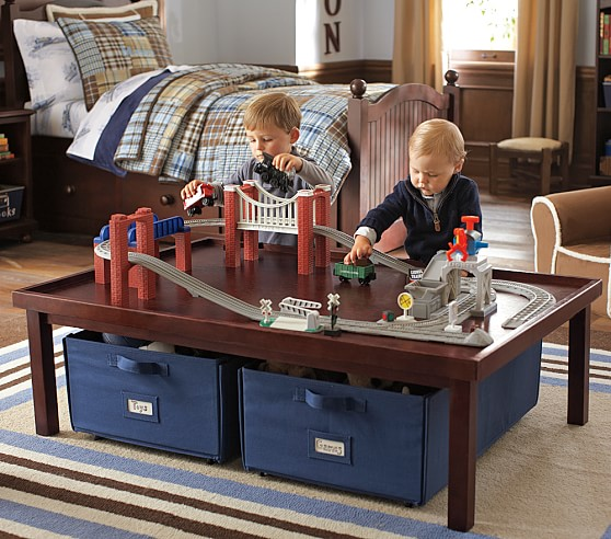 Activity Table and Canvas Cart | Pottery Barn Kids