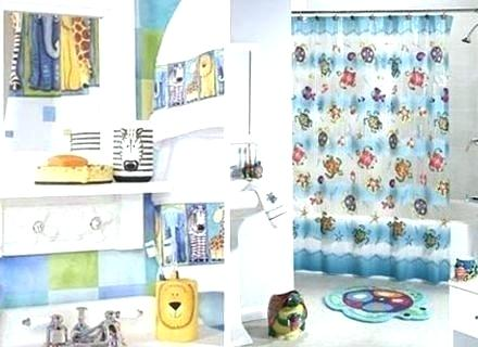 Kid Curtains Kids Bathroom Sets Bathroom Outstanding Kids Sets Kid