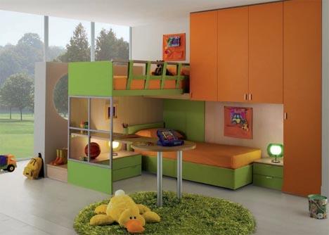 Interactive Interiors: Convertible Kids Bedroom Furniture | Designs