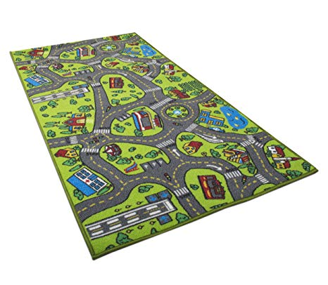 Amazon.com: Kids Carpet Playmat Rug City Life Great for Playing with