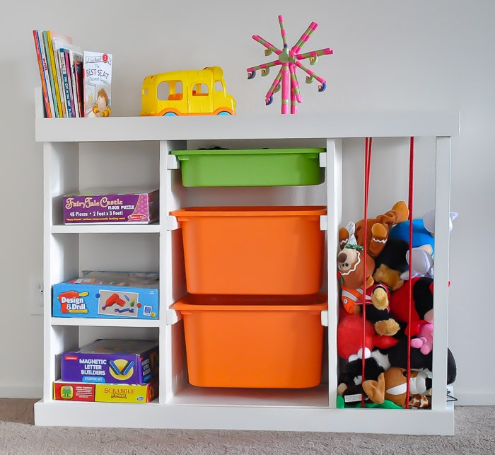DIY Toy Organizer - The Ultimate Toy Storage Solution (with Plans)