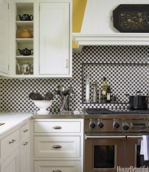 Best Kitchen Backsplash Ideas - Tile Designs for Kitchen Backsplashes