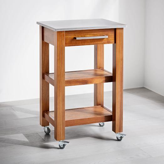 Rustic Kitchen Cart | west elm