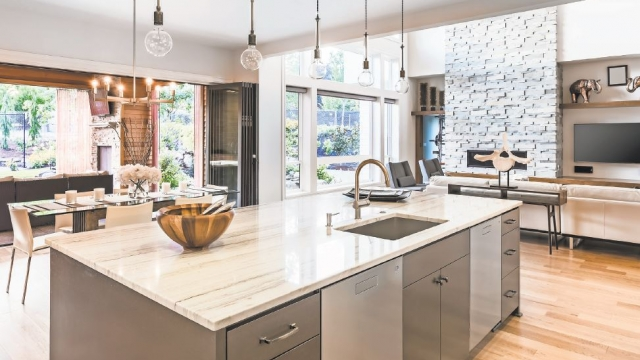 Kitchen countertop style | NewHomecentral
