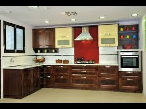 Beautiful kitchen models and Kitchen cupboard designs - YouTube