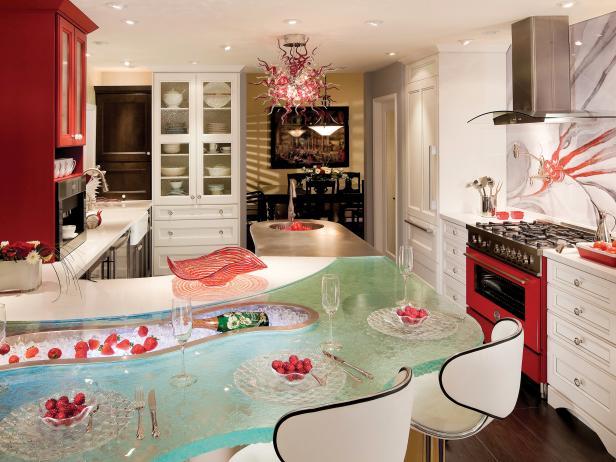 Red Kitchen Decor, Cabinets & Ideas | HGTV