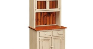Small Kitchen Hutch - Peaceful Valley Amish Furniture