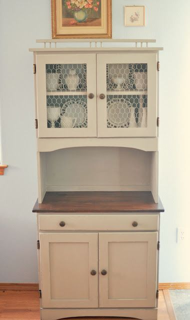 DIY Kitchen cabinet from a junk store buy! | DIY Ideas | Pinterest