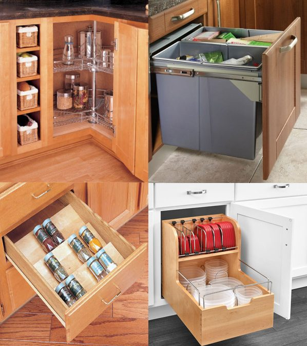 Kitchen Storage Solutions | Hardwood Creations, INC