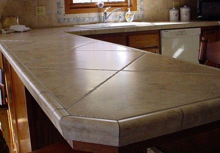 Ceramic Tile Countertop Ideas | Photos of the Ceramic Tile Kitchen