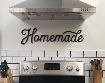 Kitchen wall decor | Etsy