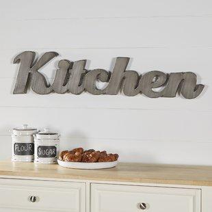 Kitchen Wall Decor | Wayfair
