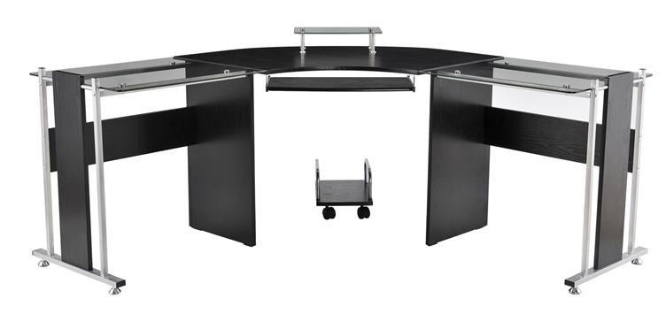 Latitude Run Freeport Modern L-Shaped Computer Desk & Reviews | Wayfair