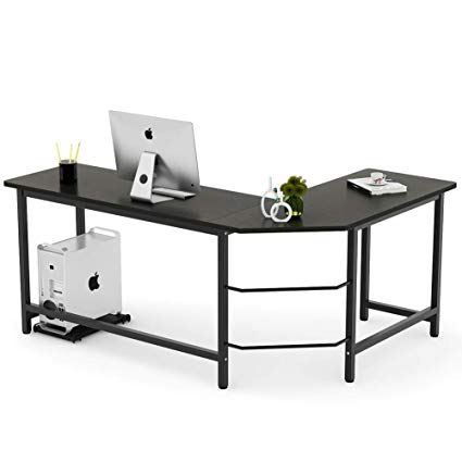 Numerable variety of L shaped computer   desk