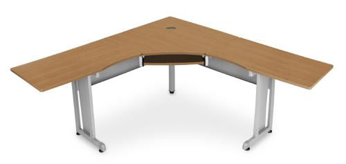 Ofm L Shaped Desk W/ 24