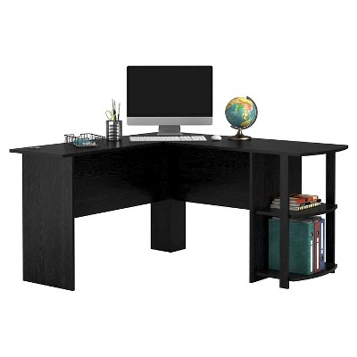 Fieldstone L-Shaped Desk With Bookshelves - Room & Joy : Target