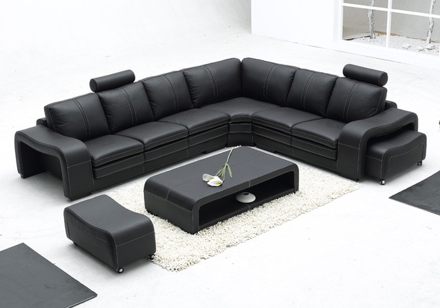 New design sofa L shape sofa sets-in Living Room Sofas from