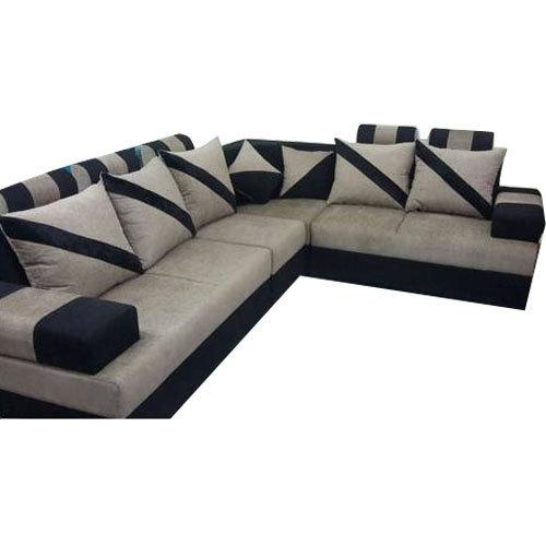 Designer L Type Sofa Set at Rs 31500 /set | L Shape Sofa Set | ID