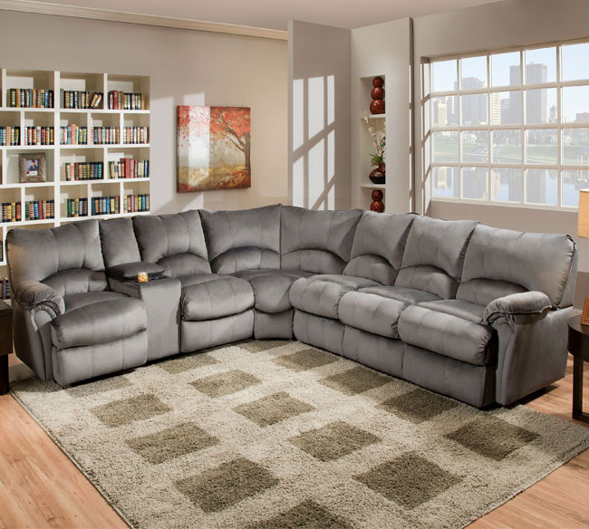 Alpine Reclining Sectional 204 | Sofas and Sectionals
