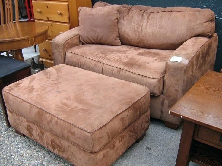 Large Chair With Ottoman Club Chair And Ottoman Large Chair And